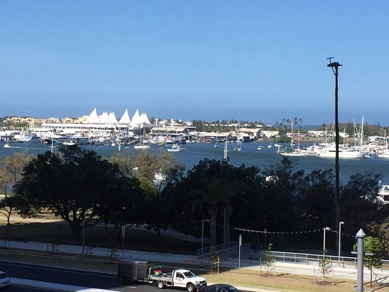 Southport, Australia: View to Sea-world and beyond