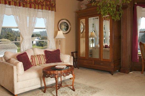 Headlands Inn Bed & Breakfast: Bessie Strauss Room