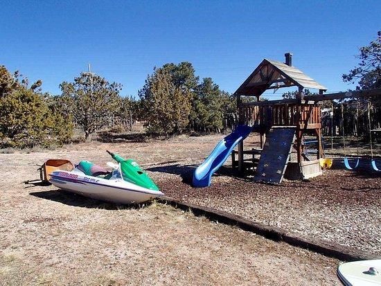 Peach Springs, Αριζόνα: Play area