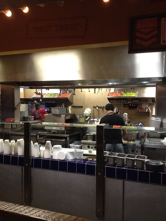 Glendale, CO: open kitchen