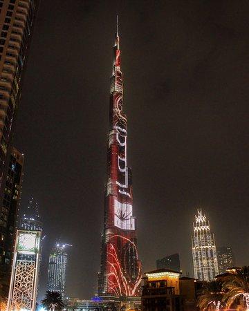 The amazing wonder Burj Khalifa from level 124 and outside