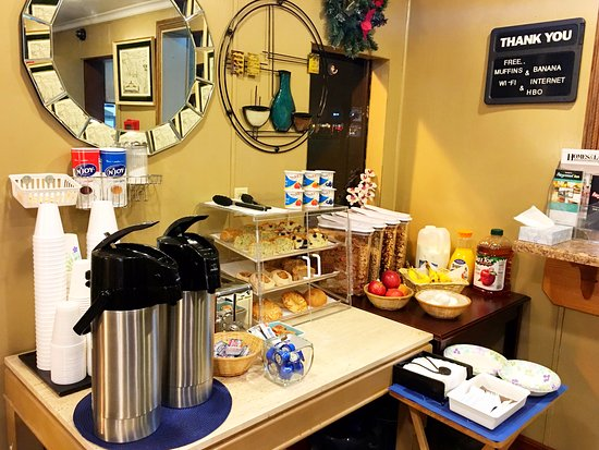 Fairground Inn: Continental Breakfast