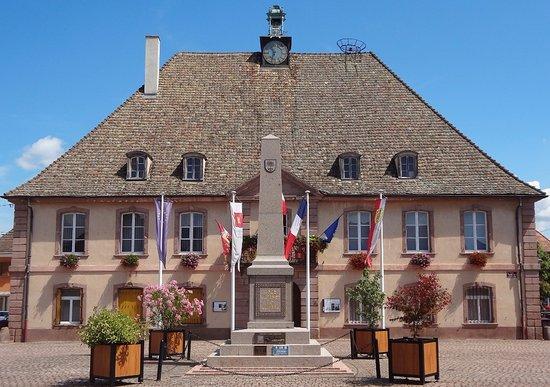Hotel de ville de Neuf-Brisach