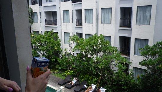 Umalas Hotel and Residence: Balcony