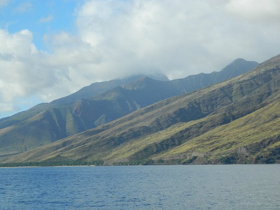 Wailuku, Havaí: Beautiful view from the boat.