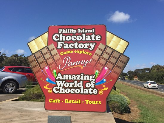 Newhaven, Australien: Chocolate Factory