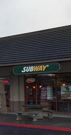 Ukiah, Калифорния: Subway