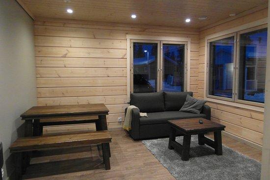 Valkea Arctic Lodge: Valkea Lodge Living room