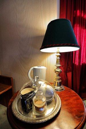 Ormiston House: coffee making