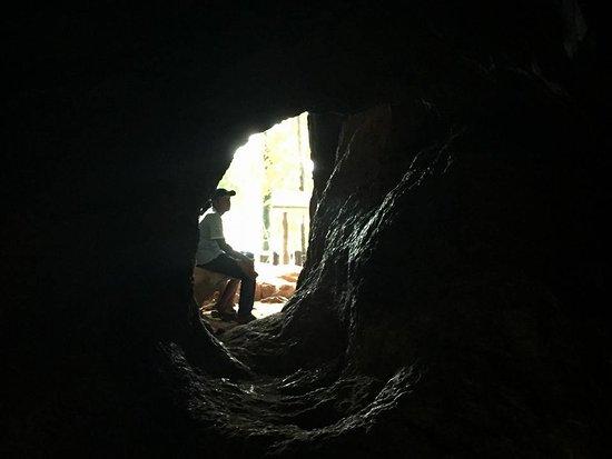 Phu Pha Phet Cave - exit