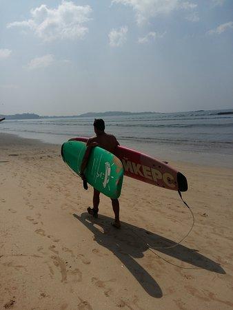 Weligama, Sri Lanka: в путь