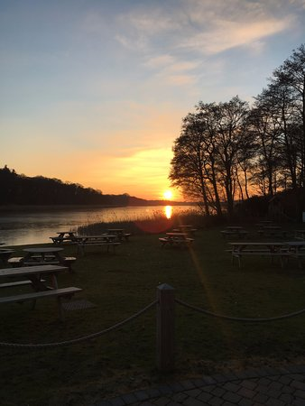 Ormesby St. Margaret, UK: Boathouse Restaurant overlooking the Ormseby Broad