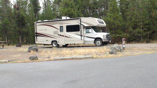 Jackson Hole Campground: Unser Wohnmobil für 7 Wochen