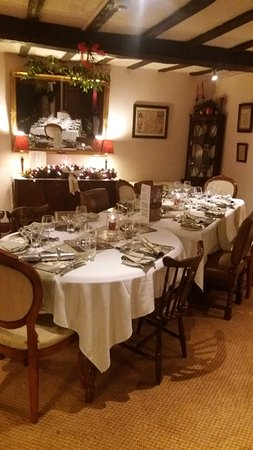 Munslow, UK: Private party in the restaurant