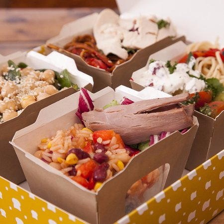 Loaf's new healthy salad box range is available to sit in or