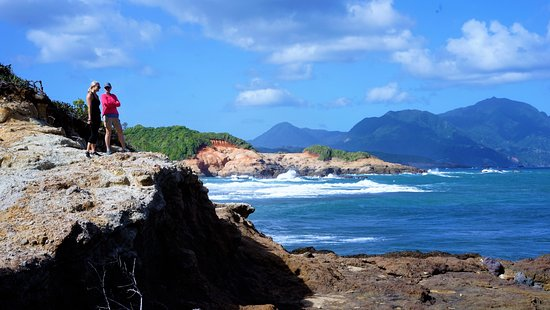 Calibishie, Dominica: Hiking tour from property