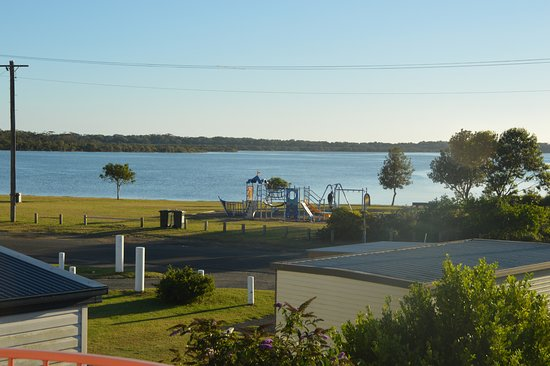 Greenwell Point, Australia: View from balcony room 10