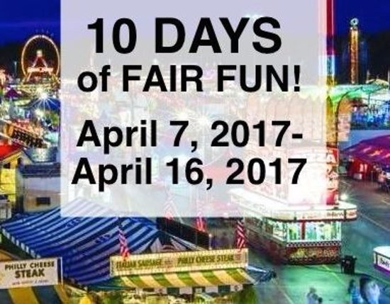 2nd Annual Horry County Fair At Myrtle Beach Sdway April 7 16 2017