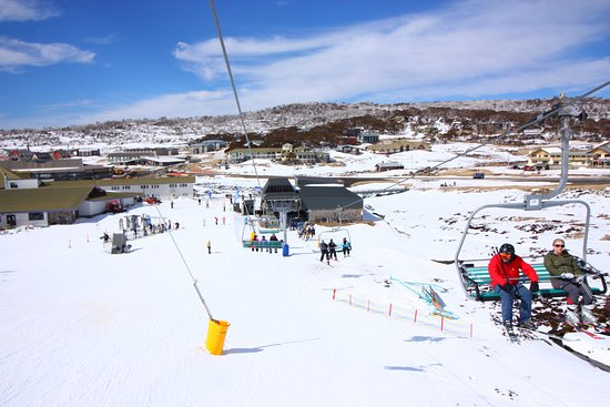 Perisher Valley, Australia: Chair Lift