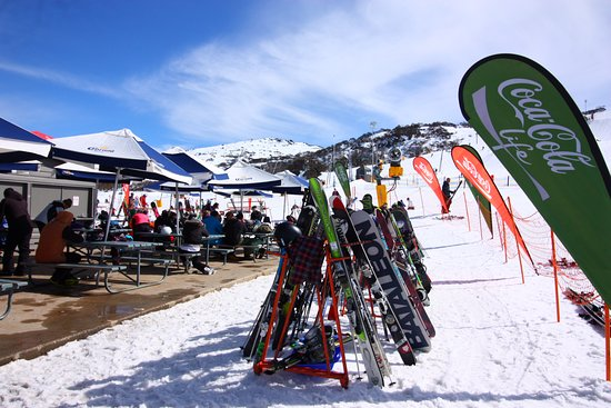 Perisher Valley, Australia: Ski Park area