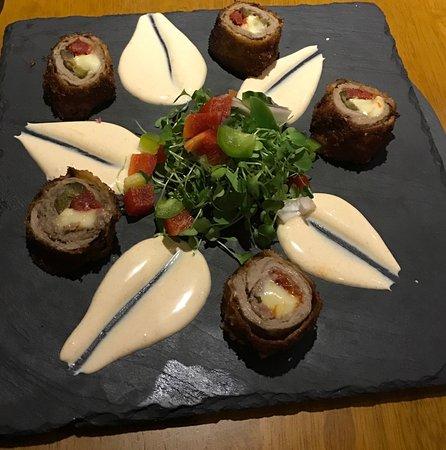 Childswickham, UK: sirloin steak starter