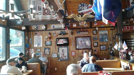 Alpine, TX: Im Yankee Doodles Caffe