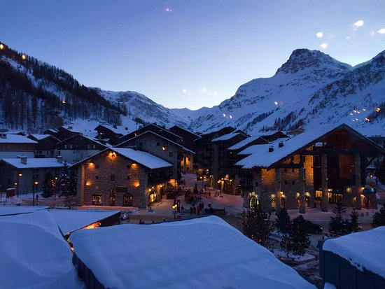 Chalet Hotel Le Val d'Isere : Lovely view from my room