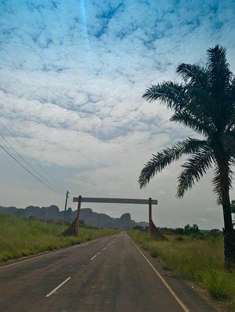 Malanje, Angola: entrance