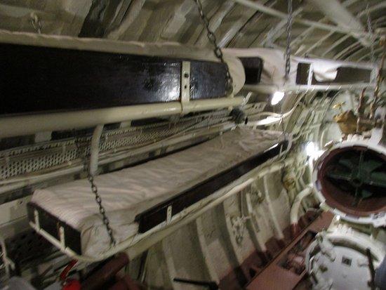Int rieur du sous marin photo de lennusadam seaplane for Interieur sous marin