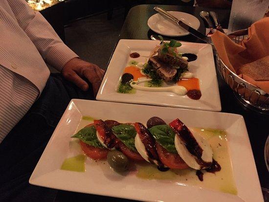 Staunton, VA: Caprese and Tuna Tapas
