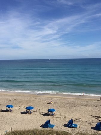 Jensen Beach, FL: View from our room!