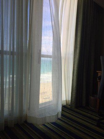 Jensen Beach, FL: Enjoying ocean breeze and sound of waves.