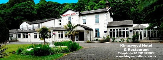 Burntisland, UK: The Tall Trees Restaurant is located inside the Kingswood Hotel.