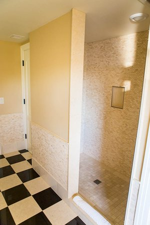 Tiled shower with Kohler fixtures. - Picture of The Edgewater ...