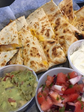 Ridgefield, CT: Chicken quesadilla