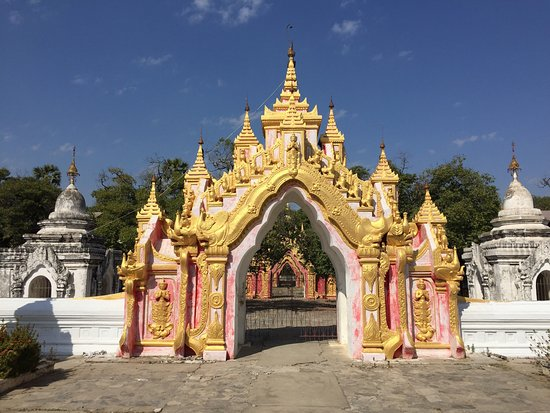 ‪Kuthodaw Pagoda & the World's Largest Book‬