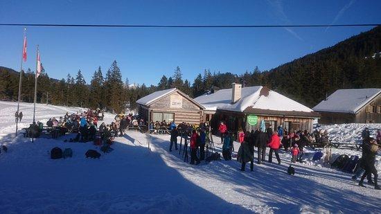 Stalden, Suiza: Bergrestaurant Schwendi-Kaltbad