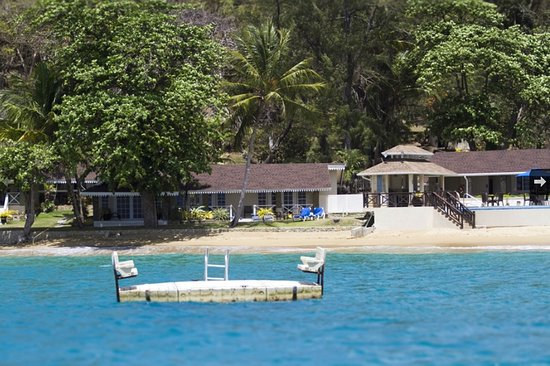 Speyside, Tobago: Our floating sun lounge