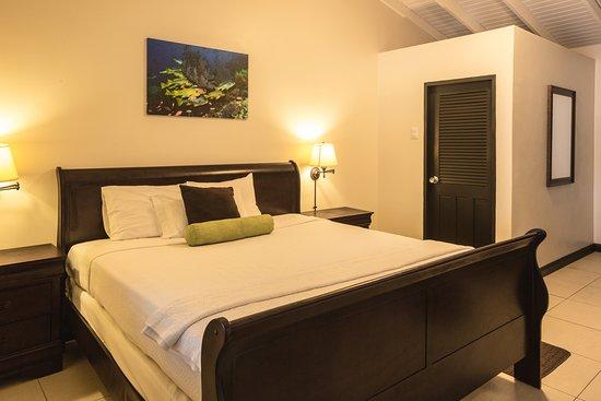 Speyside, Tobago: Beachfront room at Blue Waters Inn