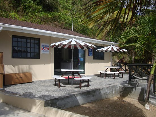 Speyside, Tobago: Our onsite dive shop