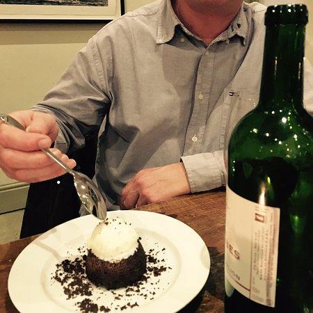 Torpoint, UK: yummy chocolate pudding