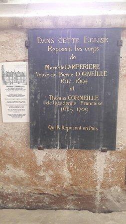 Les Andelys, Francia: Pierre funéraire