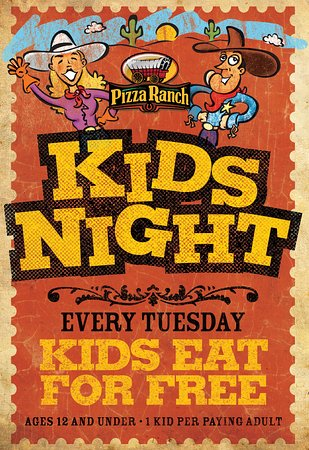 Butte, MT: Kid's Night every Tuesday!