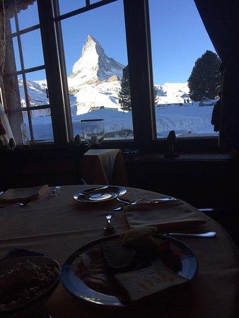 Riffelalp Resort 2222 m: Salle à manger restaurant Alexandre