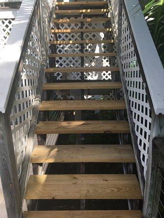 Aqua Bay Villas : New steps to Pool Suite Verandas