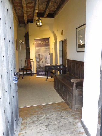 Culross, UK: entrance Hall