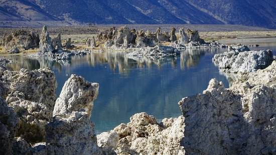 Lee Vining, CA: Образования как в воде, так и на суше