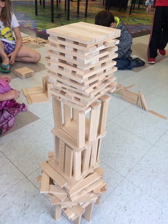 Grand Rapids, MN: Try your hand at building with over 2000 KEVA blocks!