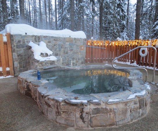 Essex, MT: Outdoor spa