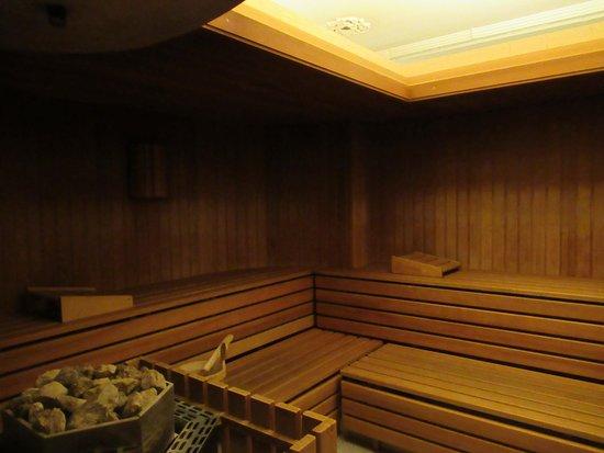 K+K Hotel Central: Le sauna.